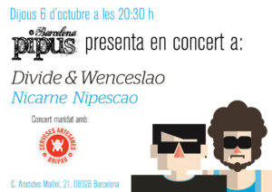 cartell-concert-pipus